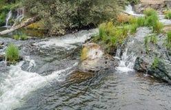 Quedas de Tumwater e rio 2 Foto de Stock