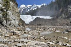 Quedas de Wataka Vista das montanhas Imagem de Stock Royalty Free
