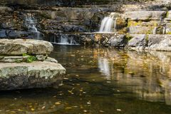 Quedas desânimos, Giles County, Virgínia, EUA Foto de Stock Royalty Free