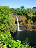 Quedas do arco-íris, console grande, Havaí Foto de Stock Royalty Free