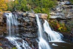 Quedas do Blackwater, West Virginia fotografia de stock