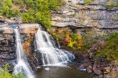 Quedas do Blackwater, West Virginia foto de stock