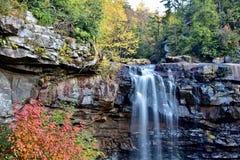 Quedas do Blackwater, West Virginia imagem de stock royalty free