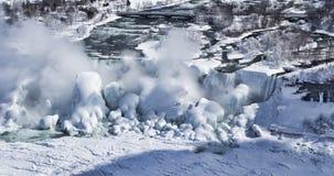 Quedas do inverno Fotos de Stock Royalty Free
