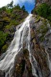 Quedas do ribeiro da rocha Imagens de Stock Royalty Free
