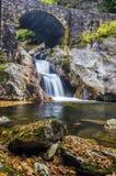 Quedas do Sunburst, North Carolina Imagem de Stock Royalty Free