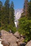 Quedas do vale de Yosemite Fotos de Stock