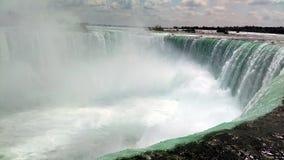 Quedas em ferradura, Niagara Falls, Canadá Imagem de Stock