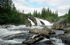 Quedas em Noruega Foto de Stock Royalty Free
