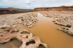 Quedas grandes secas o Arizona Foto de Stock Royalty Free