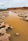 Quedas grandes secas o Arizona Fotos de Stock