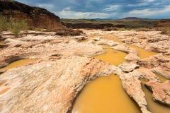 Quedas grandes secas o Arizona Imagens de Stock