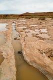 Quedas grandes secas o Arizona Fotografia de Stock