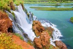 Quedas Idaho da angra da queda Imagem de Stock Royalty Free