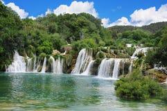 Quedas na Croácia. Fotos de Stock Royalty Free