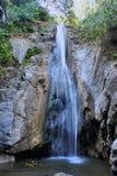 Quedas no panorama Filipinas da selva A de Palawan da ilha Foto de Stock Royalty Free