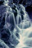 Quedas pretas do rio Imagem de Stock Royalty Free