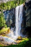 Quedas Vernal Yosemite CA Fotografia de Stock Royalty Free