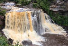 Quedas West Virginia do rio do Blackwater imagem de stock royalty free
