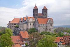 Quedlinburg lizenzfreie stockfotografie
