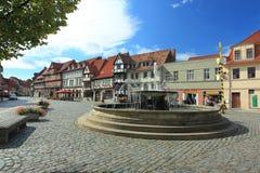 Quedlinburg Fotografie Stock Libere da Diritti