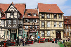 Quedlinburg Foto de archivo libre de regalías