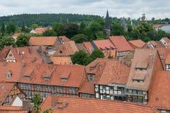 Quedlinburg, Alemanha Fotos de Stock