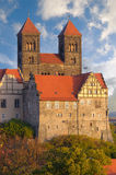 Quedlinburg Castle complex; Quedlinburg, Germany Royalty Free Stock Photography