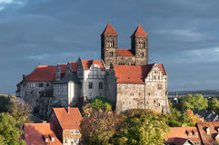 Quedlinburg Castle in Quedlinburg Royalty Free Stock Image