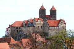 Quedlinburg castle Royalty Free Stock Photos
