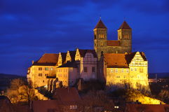 Quedlinburg cathedral unesco Royalty Free Stock Photography