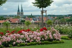 Quedlinburg, Deutschland Stockbild