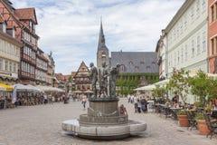 Quedlinburg Deutschland, UNESCO-Welterbestätte lizenzfreie stockbilder