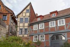 Quedlinburg Deutschland, UNESCO-Welterbestätte Stockfotografie
