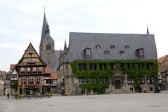 Quedlinburg, Duitsland Stock Foto
