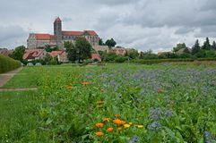 Quedlinburg, Niemcy Zdjęcia Royalty Free