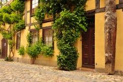Quedlinburg Sachsen Anhalt, Tyskland Royaltyfri Foto