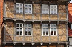 Quedlinburg Sachsen Anhalt, Tyskland Arkivfoto