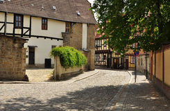 Quedlinburg, Saxony Anhalt, Germany Stock Photos