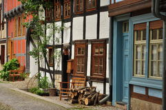 Quedlinburg, Saxony Anhalt, Germany Stock Photography