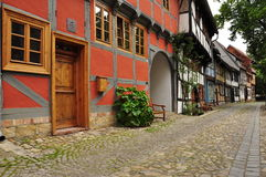 Quedlinburg, Saxony Anhalt, Germany Stock Photo