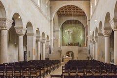 Quedlinburg Stiftskirche St Servatius Stock Afbeelding