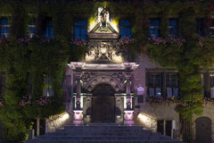 Quedlinburg townhall, Germany, at night Royalty Free Stock Photography