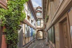 Quedlinburg Tyskland, Unesco-världsarv Arkivfoton