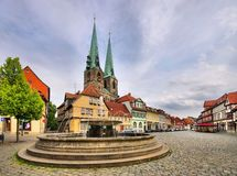 Quedlinburg well Stock Images