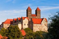 Quedlinburger Schlossberg Images stock