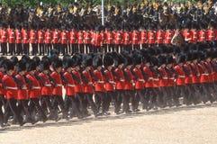 The Queen�s Birthday Parade�. Stock Photo
