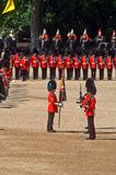 The Queen�s Birthday Parade�. Royalty Free Stock Photo