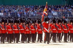 The Queen�s Birthday Parade�. Stock Photography