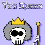 The Queen. An illustration of a Queen Stock Photography